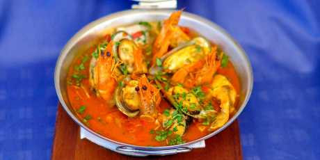 Algarvian Fish and Shellfish Cataplana